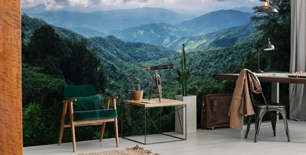 Fototapeta góry w Tajlandii