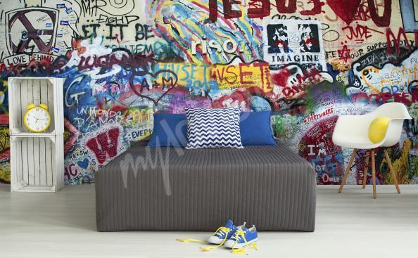 Fototapeta graffiti młodzieżowa