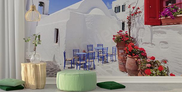 Fototapeta greckie miasteczko