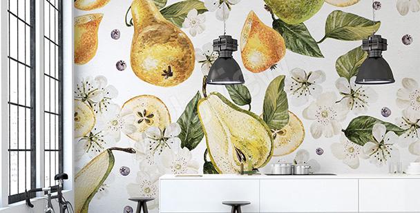 Fototapeta owoce w kuchni