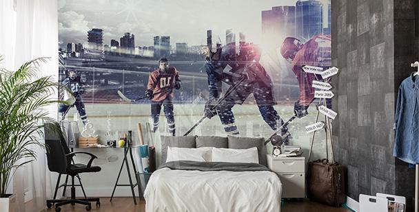 Fototapeta hokej na lodzie