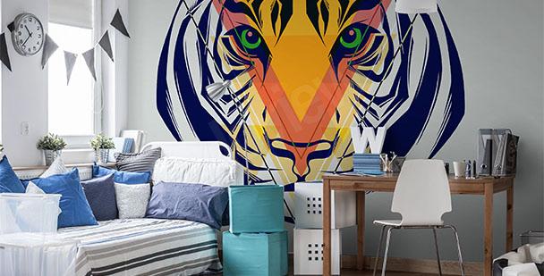 Fototapeta ilustracja tygrysa