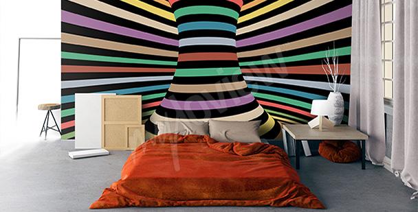 Fototapeta iluzja dla nastolatka