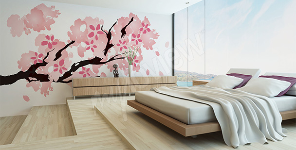 Fototapeta japońska sakura