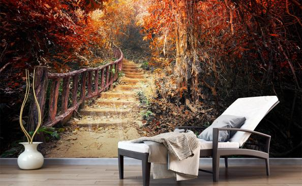 Fototapeta jesienny krajobraz