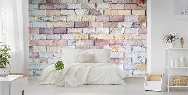 Fototapeta kolorowe cegły