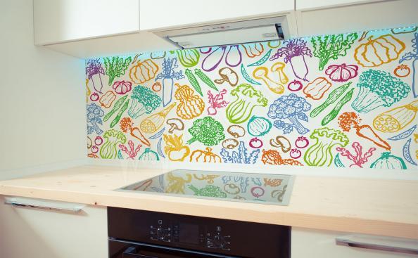 Fototapeta kolorowe warzywa