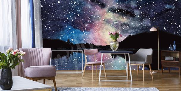 Fototapeta kosmiczna do salonu