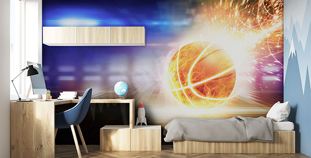 Fototapeta koszykówka 3D