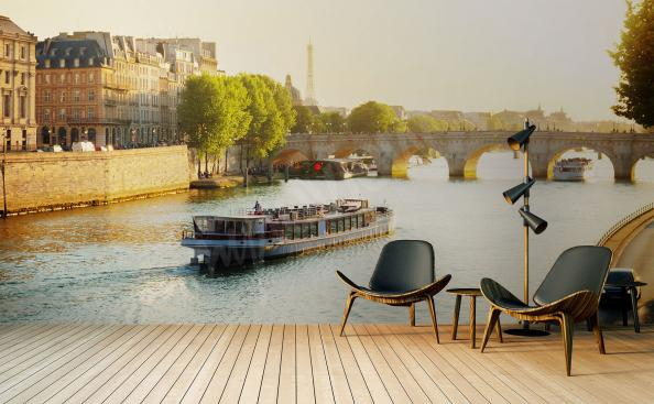 Fototapeta krajobraz Paryża