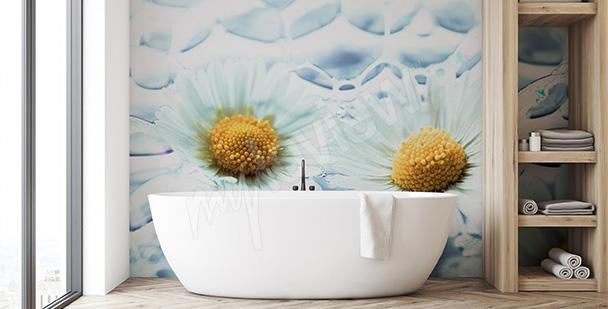 Fototapeta kwiaty - styl minimal