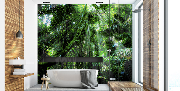 Fototapeta rośliny w dżungli