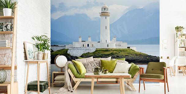 Fototapeta latarnia morska w Szkocji