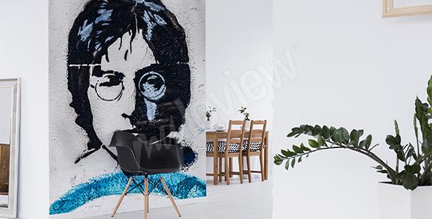 Fototapeta Lennon - styl minimal