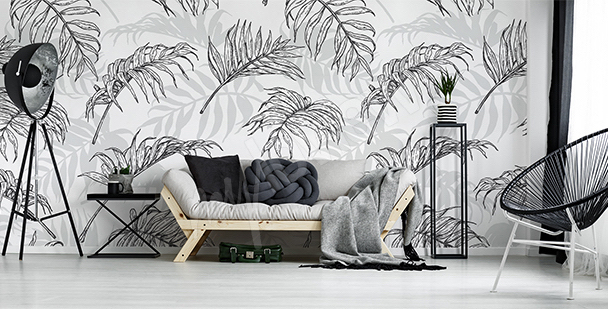 Fototapeta liście palmowe