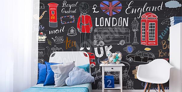 Fototapeta Londyn dla nastolatka