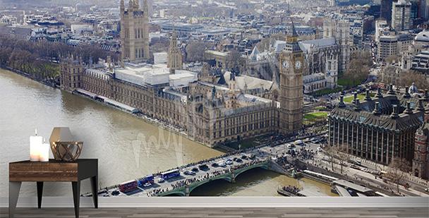 Fototapeta Londyn z lotu ptaka