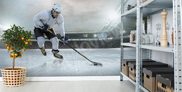 Fototapeta mecz hokejowy
