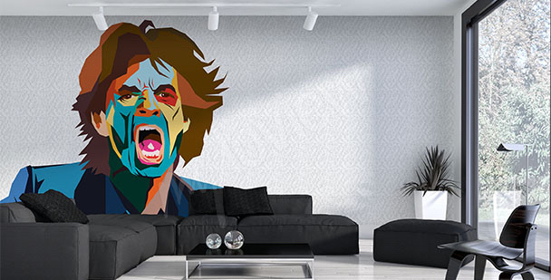 Fototapeta Mick Jagger