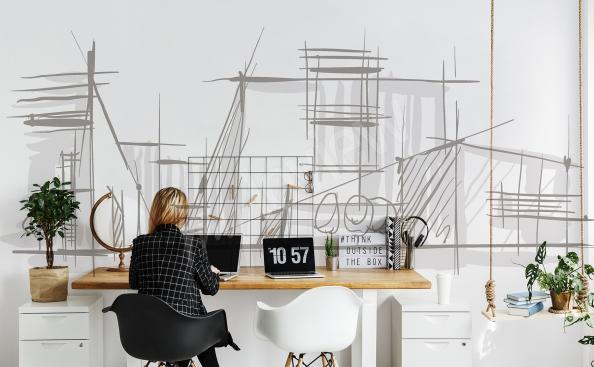 Fototapeta minimalistyczna architektura