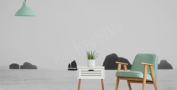 Fototapeta minimalistyczne morze