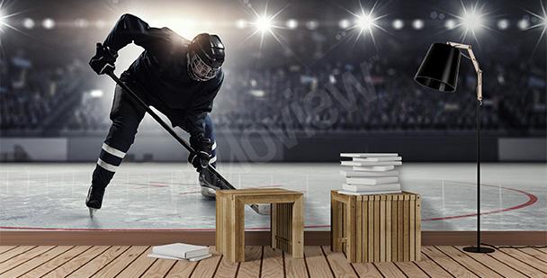 Fototapeta mistrzostwa hokejowe