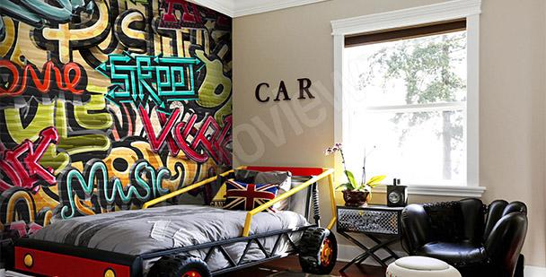 Fototapeta młodzieżowa graffiti