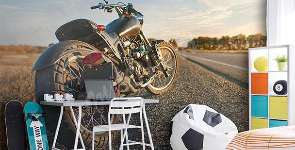 Fototapeta młodzieżowa motocykl