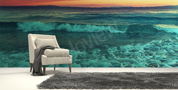 Fototapeta morze i fale