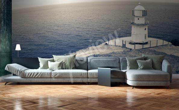 Fototapeta morze i latarnia