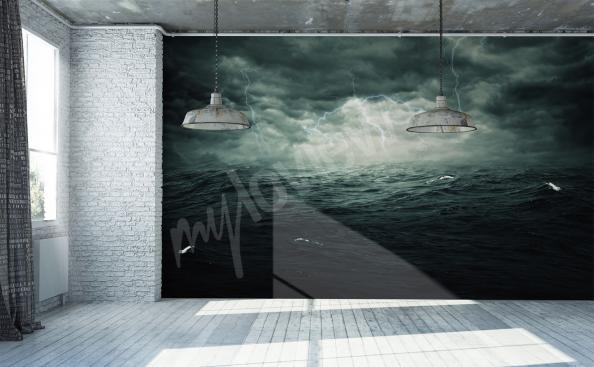 Fototapeta morze wzburzone