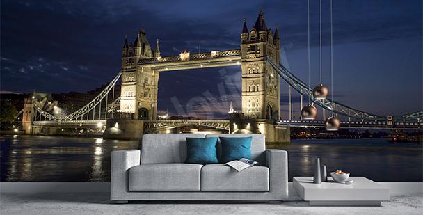 Fototapeta most w Londynie