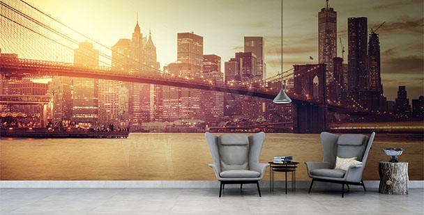 Fototapeta most w Nowym Jorku