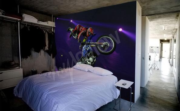 Fototapeta motocykl crossowy
