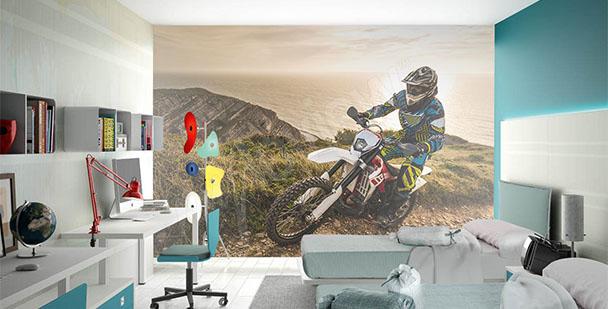 Fototapeta motocykl dla nastolatka