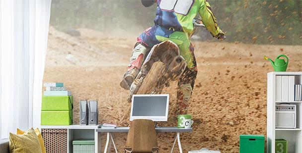 Fototapeta motocykl sport