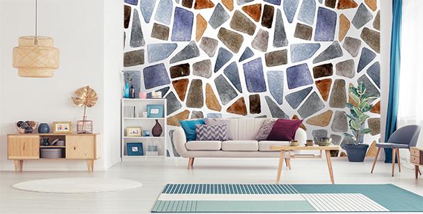 Fototapeta mur z kamieni