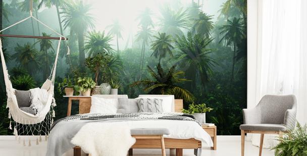 Fototapeta natura w dżungli