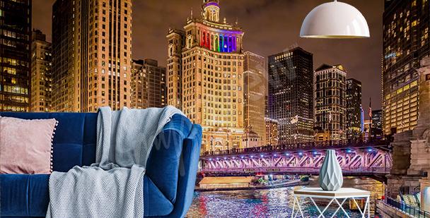 Fototapeta nocne miasto