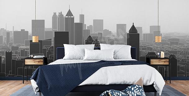 Fototapeta Nowy Jork 3D