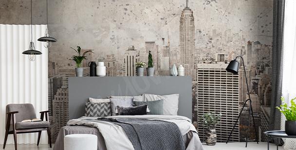 Fototapeta Nowy Jork w stylu retro