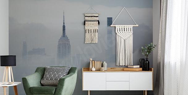 Fototapeta Nowy Jork we mgle
