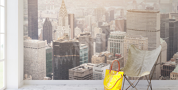 Fototapeta NY z lotu ptaka