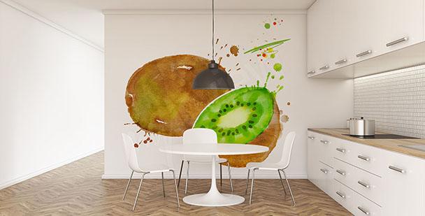 Fototapeta owoc kiwi