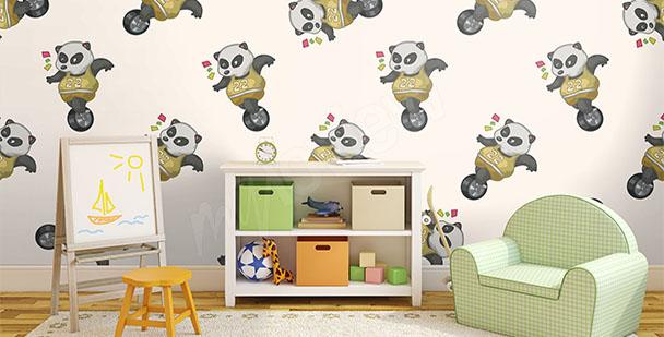 Fototapeta panda pokój dziecka
