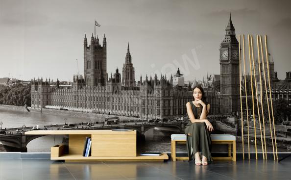 Fototapeta panorama Londynu 3D
