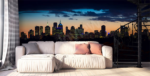 Fototapeta panorama Melbourne