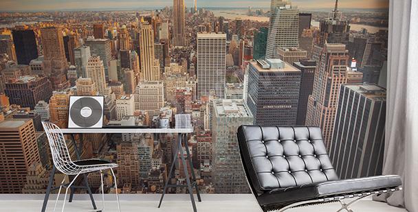 Fototapeta panorama metropolii