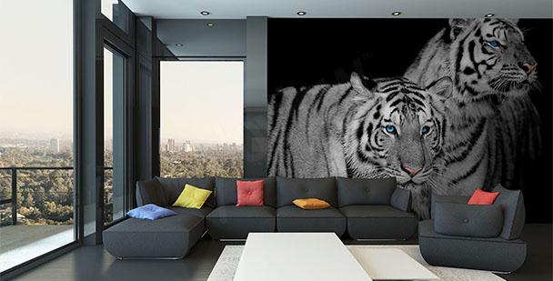 Fototapeta para tygrysów