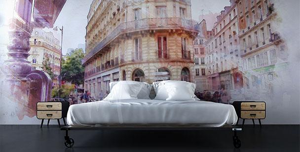 Fototapeta Paryż zabytkowa ulica